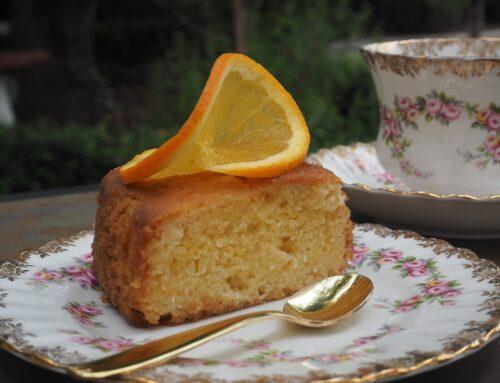 Gluten Free Orange Olive Oil Cake