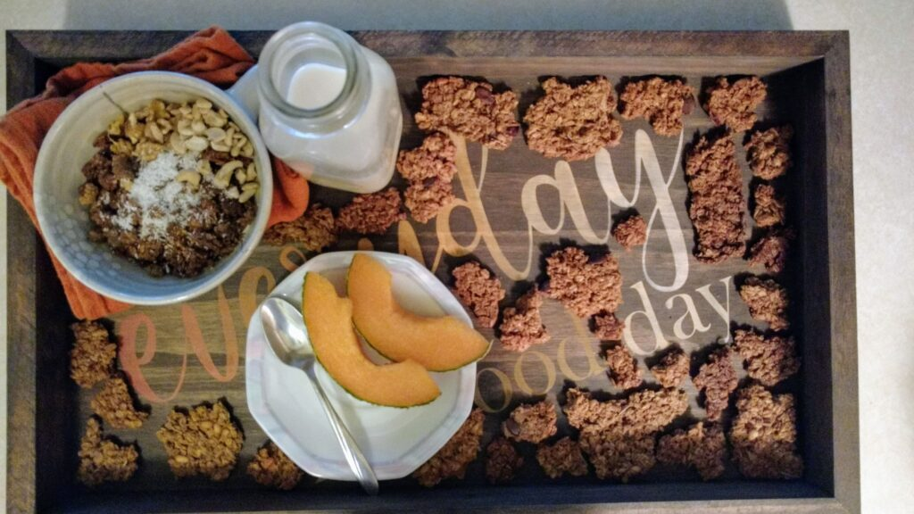 """36 Hour Sprouted Granola -- Fresh from Dr. Neetu's """"Pandemic Pantry"""""""
