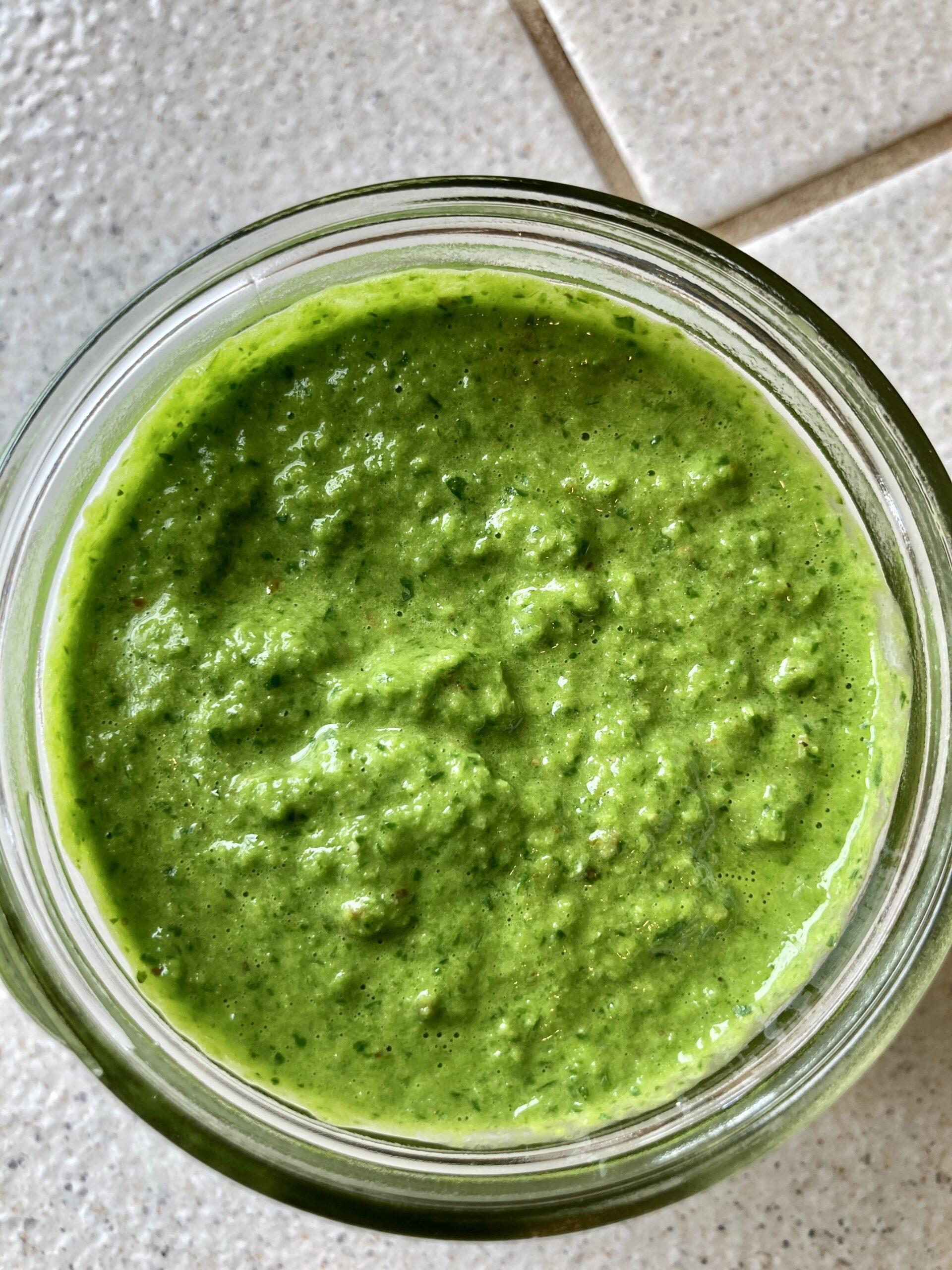 Chimichuri Green sauce